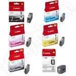 Multipack of Canon PGi-7 and PGi-9 Ink Cartridges