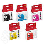 Multipack of Canon PGi-72 Ink Cartridges