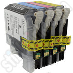 Compatible Multipack of Brother LC123 Ink Cartridges