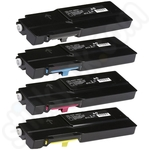 Multipack of Compatible Extra High Capacity Xerox C400 Toner Cartridges