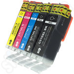 Compatible Multipack of High Capacity Canon PGi-570 & CLi-571 Ink Cartridges