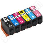 Compatible Multipack of High Capacity Epson 378XL Ink Cartridges