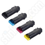 Multipack of Compatible High Capacity Xerox 106R0347 Toner Cartridges