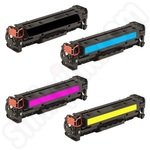 Compatible Multipack of HP 312 Toner Cartridges