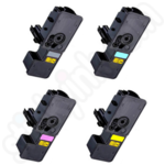 Compatible Multipack of Kyocera TK5230 Toner Cartridges
