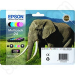 Multipack of Epson 24 Ink Cartridges