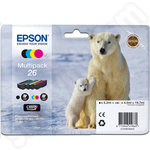 Multipack of Epson 26 Ink Cartridges