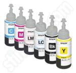 Multipack of Epson 673 Ink Bottles