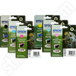 Multipack of Epson T0791-6 Ink Cartridges