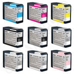 Multipack of Epson T580 Ink Cartridges