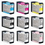 Multipack of Epson T5801-9 Ink Cartridges
