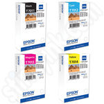 Multipack of Extra High Capacity Epson T7011-4 Ink Cartridges