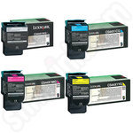 Multipack of Extra High Capacity C54x Toner Cartridges