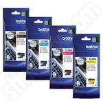 Multipack of High Capacity Brother LC3239XL Ink Cartridges
