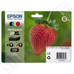 Multipack of High Capacity Epson 29XL Ink Cartridges