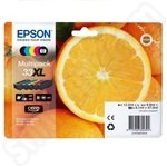 Multipack of High Capacity Epson 33XL Ink Cartridges