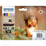 Multipack of High Capacity Epson 378XL Ink Cartridges