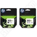 Multipack of High Capacity HP 303XL Ink Cartridges