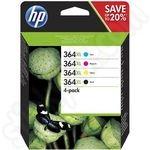 Multipack of High Capacity HP 364 XL Ink Cartridges