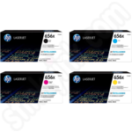 Multipack of High Capacity HP 656X Toner Cartridges