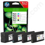 Multipack of High Capacity HP 963XL Ink Cartridges