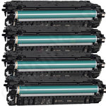 Remanufactured Multipack of High Capacity 508X Toner Cartridges