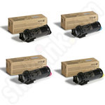 Multipack of High Capacity  Xerox 106R0347 Toner Cartridges