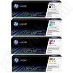 Multipack of HP 201A Toner Cartridges