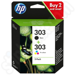 Multipack of HP 303 Ink Cartridges