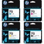 Multipack of HP 712 Ink Cartridges