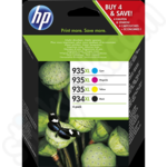 Multipack of HP 934XL and 935XL Inks