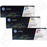 Multipack of HP 312A Colour Toner Cartridges