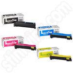 Multipack of Kyocera Mita TK540 Toner Cartridges