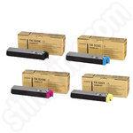 Multipack of Kyocera TK520 Toner Cartridges