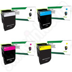 Multipack of Lexmark 71B20 Toner Cartridges