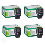 Multipack of Lexmark C2320 Toner Cartridges (Return Program)