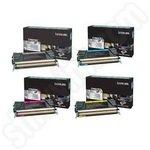 Multipack of Lexmark C792 Toner Cartridges