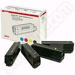 Multipack of Oki 43112702 Toner Cartridges