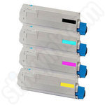 Multipack of Oki 4539630 Toner Cartridges