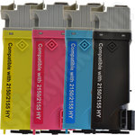 Refilled Multipack of High Capacity Dell 2150/2155 Toners