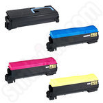 Refilled Multipack of TK550 Toner Cartridges