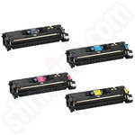 Remanufactured Multipack of Canon 701 Toners