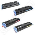 Remanufactured Multipack of Canon 711 Toners