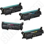 Remanufactured Multipack of Canon 723 Toner Cartridges