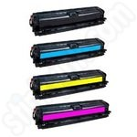 Remanufactured Multipack of HP 651A Toner Cartridges