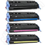Remanufactured Multipack of HP 124A toner cartridges