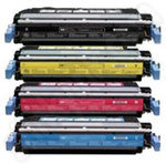 Remanufactured Multipack of HP 644A-3 Toners