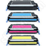 Remanufactured Multipack of HP Q6470 and Q758 Toner Cartridges