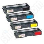 Remanufactured Multipack of Kyocera Mita Toner Cartridges