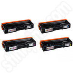 Remanufactured Multipack of Ricoh 40754X Toner Cartridges